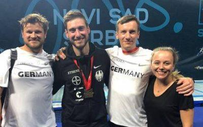 medicoreha-Physio betreut Europameister Max Hartung