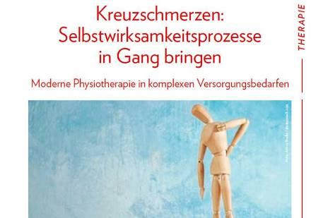 medicoreha in Physio-Fachzeitschrift