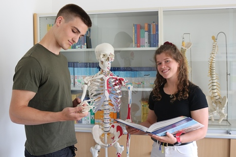 Physiotherapeut mit Bachelor-Abschluss