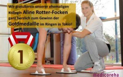 Gold für unsere ehem. Kollegin Aline Rotter-Focken