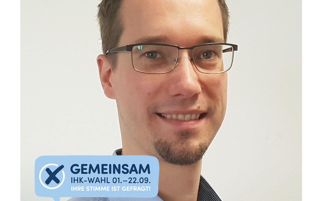 Kandidatur IHK Vollversammlung – Helge A. Niemietz